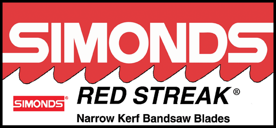 Simonds Red Streak Bandsaw Blades